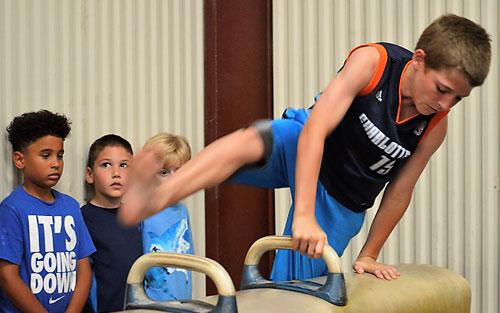 <center>Boy's Gymnastics Classes</center>